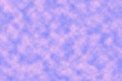 Rose Clouds dans le ciel Photo libre de droits