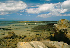 The Rose coast, Brittany, France Stock Photo