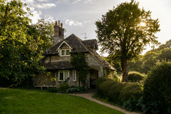 Rose Cottage em Blaise Hamlet fotografia de stock royalty free