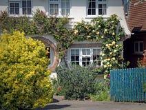 Rose cottage Royalty Free Stock Image