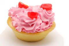 Rose cream cake Stock Photos