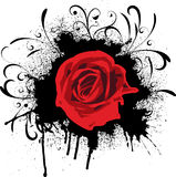 rose crunch royalty ilustracja