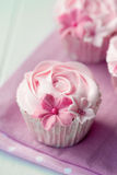 Rose cupcakes Royalty Free Stock Photos