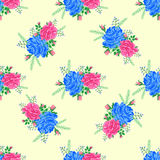 Rose cute seamless pattern5-01 Royalty Free Stock Photo