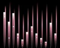 Rose d'onde sonore Image libre de droits