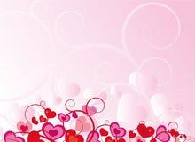 rose de coeur de conception Photographie stock libre de droits