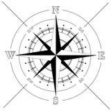 rose de compas illustration stock