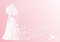 rose de mariée illustration stock