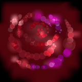 Rose de miroitement Images stock