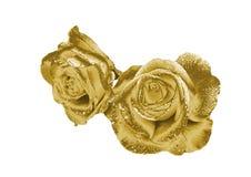 Rose de oro Fotografía de archivo libre de regalías