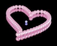 rose de perles Photo libre de droits