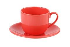 Rose de positionnement de café de porcelaine Photo stock