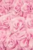 Rose de rose de tissu Photographie stock libre de droits