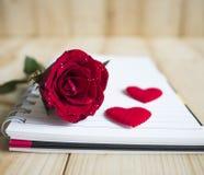 Rose 34 de rouge Images stock