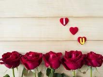 Rose 30 de rouge Photographie stock libre de droits