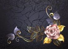 Rose del oro rosado libre illustration