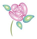 Rose design Stock Image