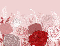 rose design background Royalty Free Stock Photos