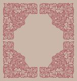 Rose design elements Royalty Free Stock Photography