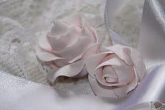 Rose di cerimonia nuziale Immagini Stock