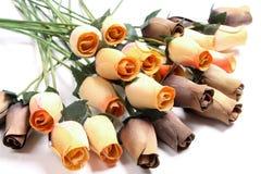 Rose di legno Fotografie Stock