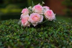 Rose di plastica Fotografie Stock Libere da Diritti