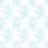 Rose Drawing Pattern Royalty Free Stock Photo