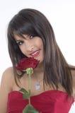 rose dziewczyna Fotografia Royalty Free