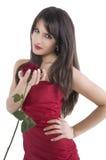 rose dziewczyna Obraz Royalty Free