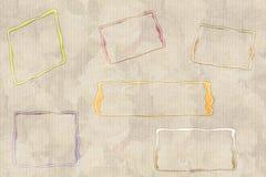Rose e scatole Immagine Stock Libera da Diritti
