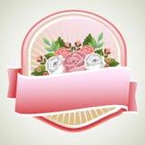 Rose emblem Stock Images