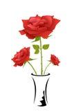 Rose en crisol Imágenes de archivo libres de regalías