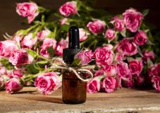 Rose Essential Oil Royalty Free Stock Photos