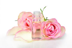 Rose essential oil Royalty Free Stock Image