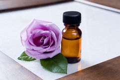 Rose essential oils Royalty Free Stock Photos