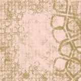 Rose et fond ou papier peint de Brown Image libre de droits