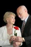 Rose für die Dame Lizenzfreie Stockfotografie