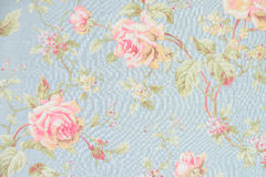 Rose fabric background Royalty Free Stock Photos