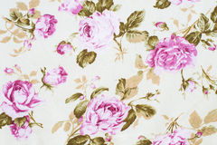 Rose fabric background Royalty Free Stock Photography