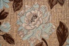 Rose fabric background Royalty Free Stock Photos
