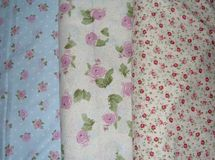 Rose Fabric Background Royalty Free Stock Photo
