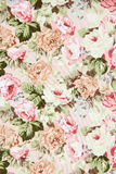 Rose Fabric background,vintage colour effect Stock Photography