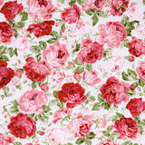 Rose Fabric background,vintage colour effect Royalty Free Stock Photography