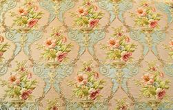 Rose fabric background of wallpapers Royalty Free Stock Images