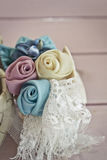 Rose fabric Stock Image