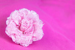 Rose fabrics handcraft Royalty Free Stock Photo