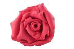 Rose a fait à partir de l'argile Photos libres de droits