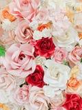 Rose a fait à partir du papier Photographie stock libre de droits