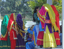 Rose Festival, Cultural Show, Chandigarh, India Stock Image