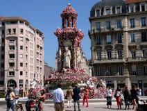 Rose Festival, Lyon, Frankrijk Stock Afbeeldingen
